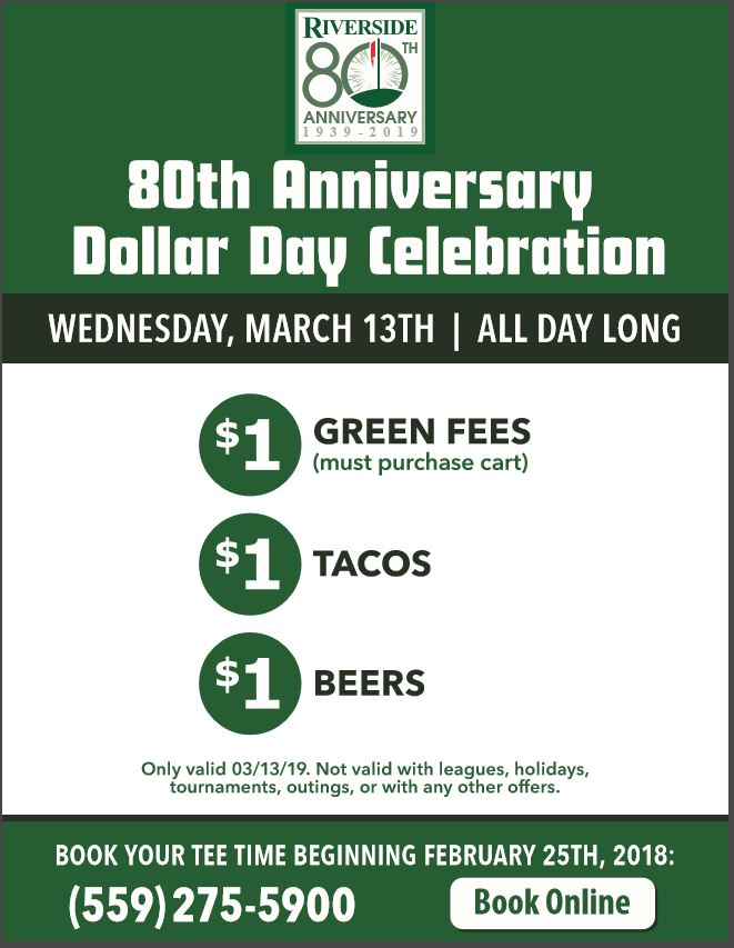 Dollar Day Celebration